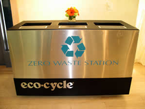 Eco-Celebrations station